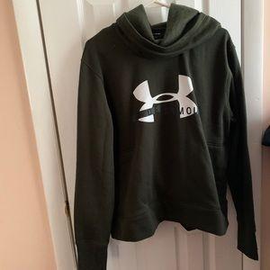 Under armor high neck sweatshirt